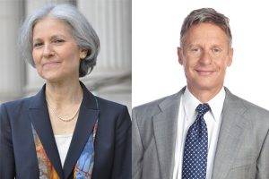 Dr. Jill Stein and Gary Johnson, our two Third Party choices for 2016